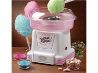 Hard Candy and Sugar Free Cotton Candy Maker by Nostalgia Electrics