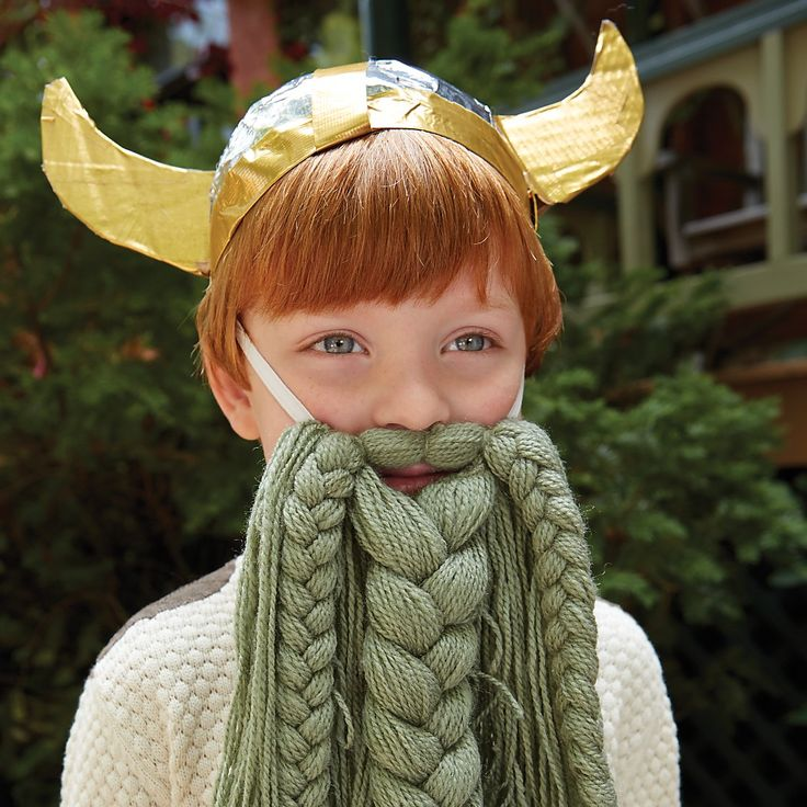 Shop Kids' Knit Viking Beard. Our kids knit Viking beard is the perfect addition to any kids' dress up collection.