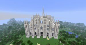 Check Out Explodingcreeper.com for Minecraft Tutorials and Access to our Developing Server! Minecraft - Duomo di Milano by MinecraftArchitect90
