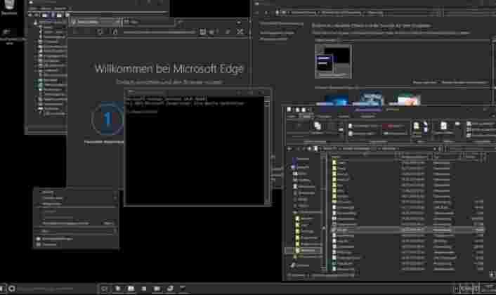 GreyEve Dark Theme Free Download For Windows 10 | Windows 10 Themes