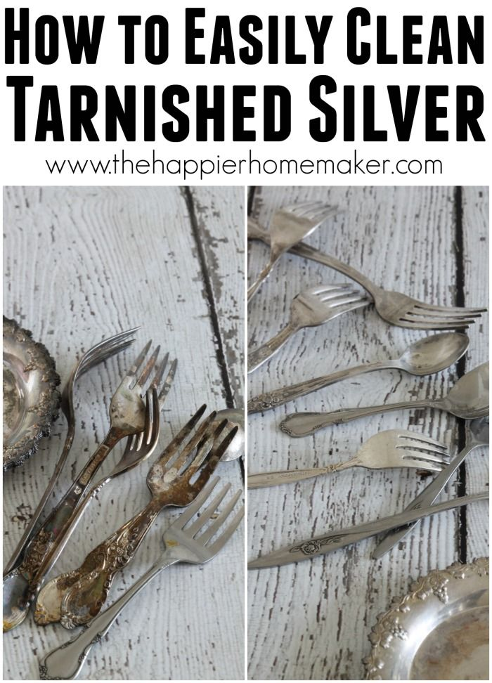 How to Easily Clean Tarnished Silver