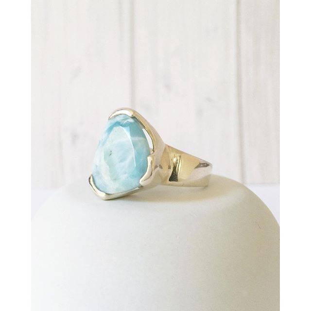 Larilovely... Our Larimar Everyday cocktail ring :ring: because EVERY day is an occasion www.uberkate.com.au