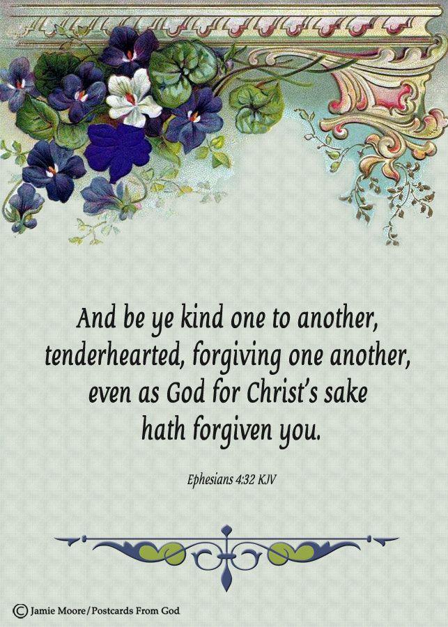 kjv verses about being kind