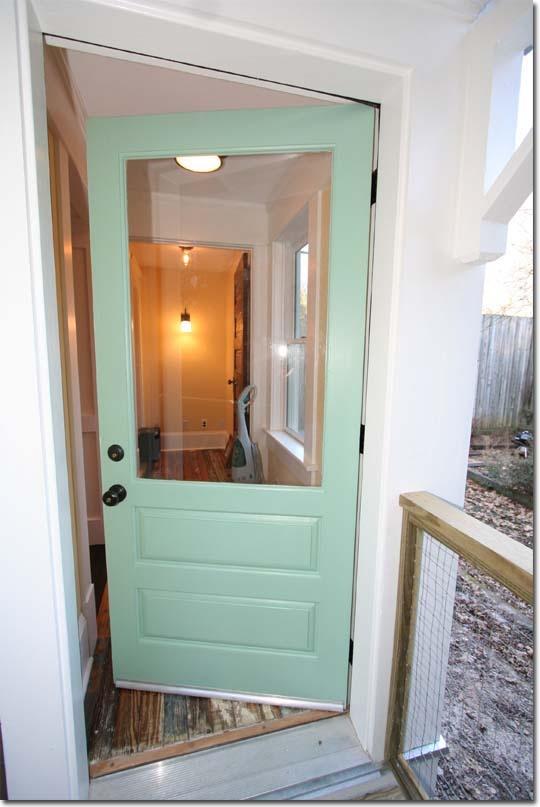 Victorian back door