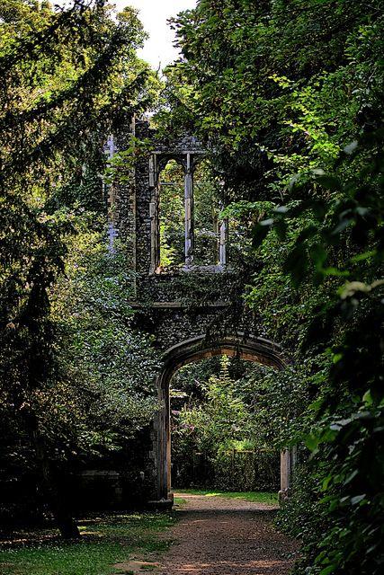 Ancient Castle Ruins, Scotland