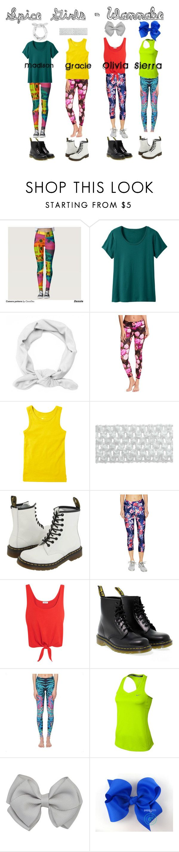 Wannabe - Haschak Sisters by treefrogmadeline on Polyvore featuring TravelSmith, Splendid, We Are Handsome, Betsey Johnson, Mara Hoffman, NIKE and Dr. Martens