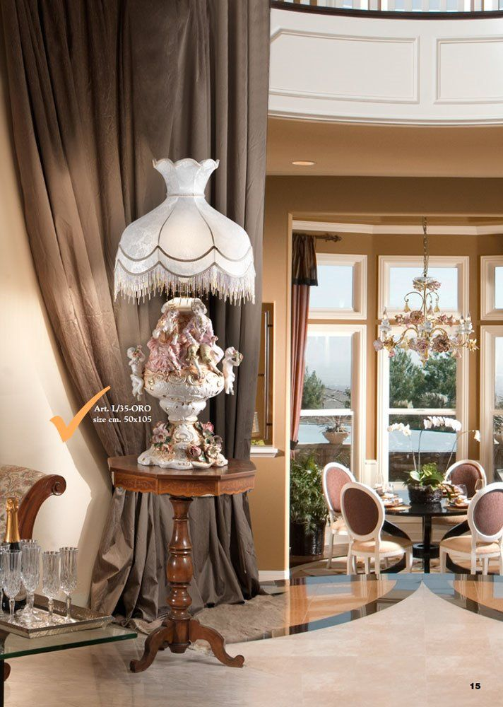 Masterpiece decoration !! The secret of the art ?Hand made by italian artists. The best creations will be added gradually , Would you like to see more ?  Await your comments! http://www.luxuryproducts.pl/p,ozdobna_ceramiczna_lampa,53676,712.html