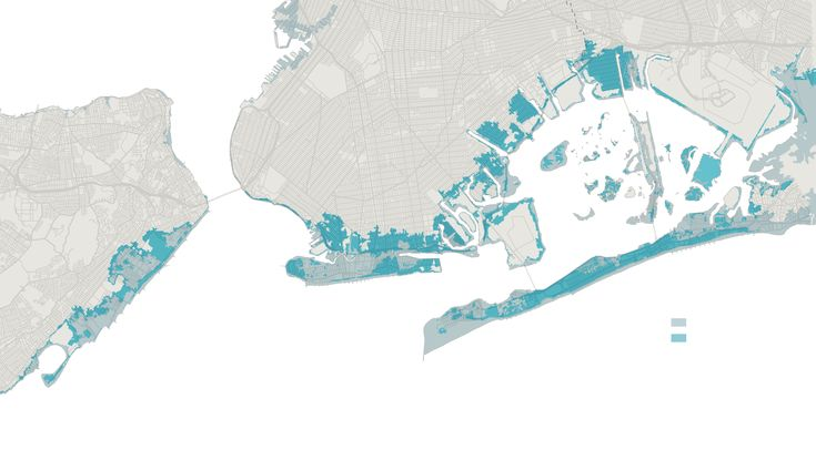 Preliminary FEMA flood zone post-Sandy map update / NY Times