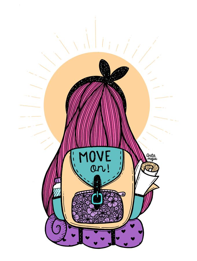 Anita Mejia - Illustration Blog: MOVE ON!