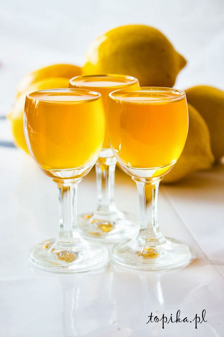 nalewka, miód, cytryny,
