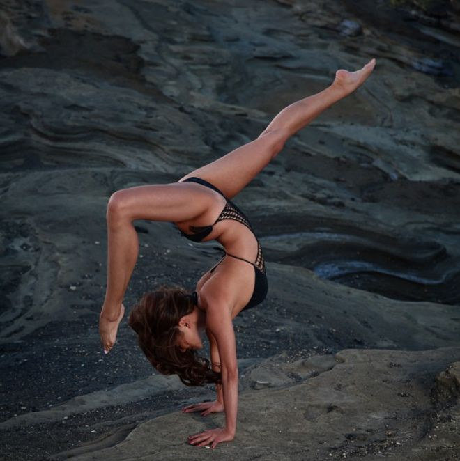 Michelle Lou Lan is a yoga instructor and founder of the studio Mesh Yoga based out of New York.