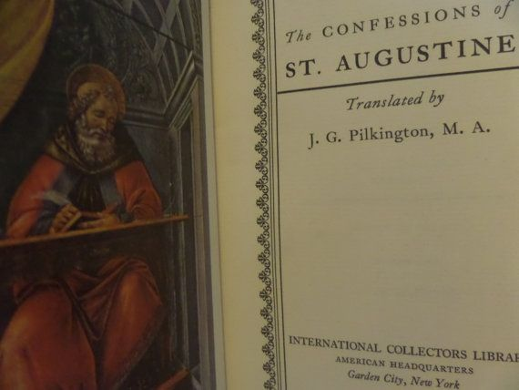 Confessions of St Augustine International by SomethingGeeshy