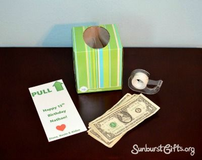 Best 25 birthday money gifts ideas on pinterest gift money items needed to create birthday money box sciox Image collections