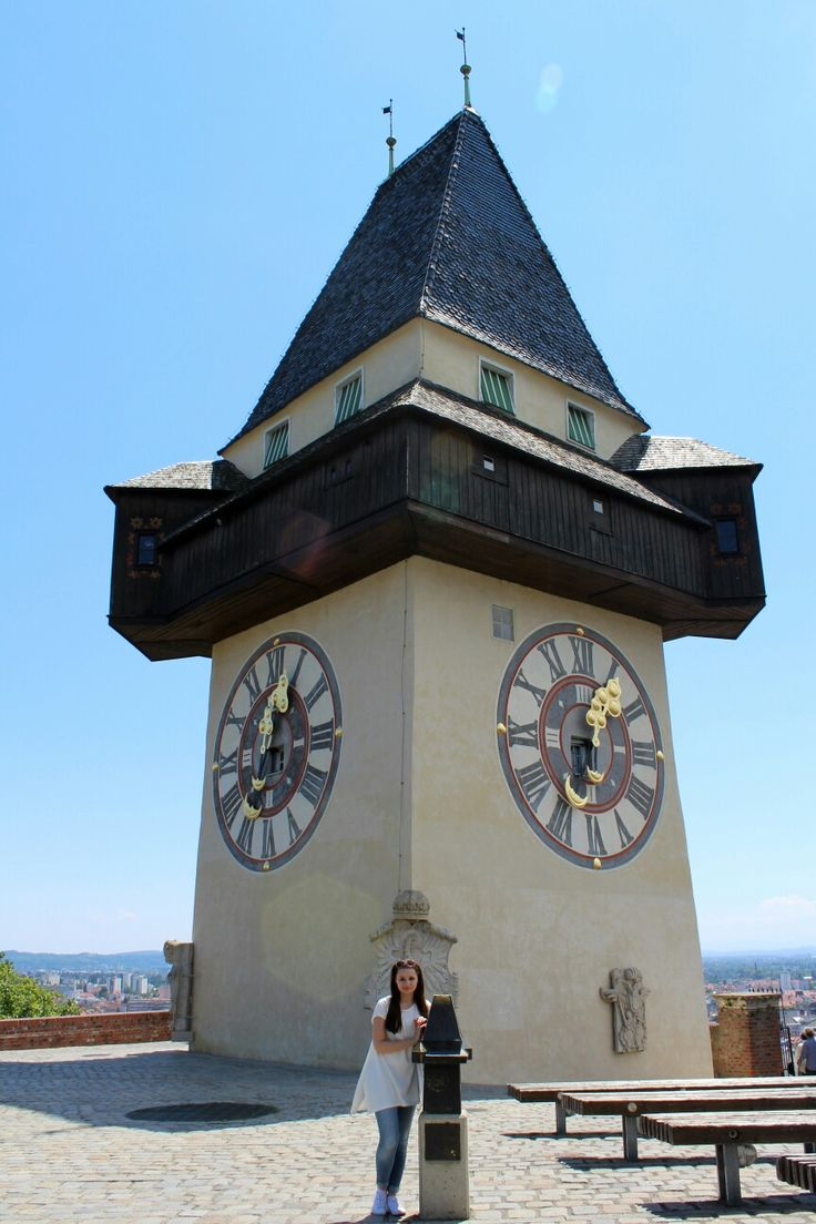 Austria - Styria - Graz - grazer uhrturm