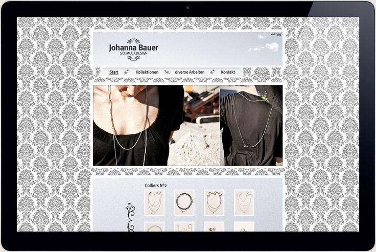 Johanna Jewellery Website