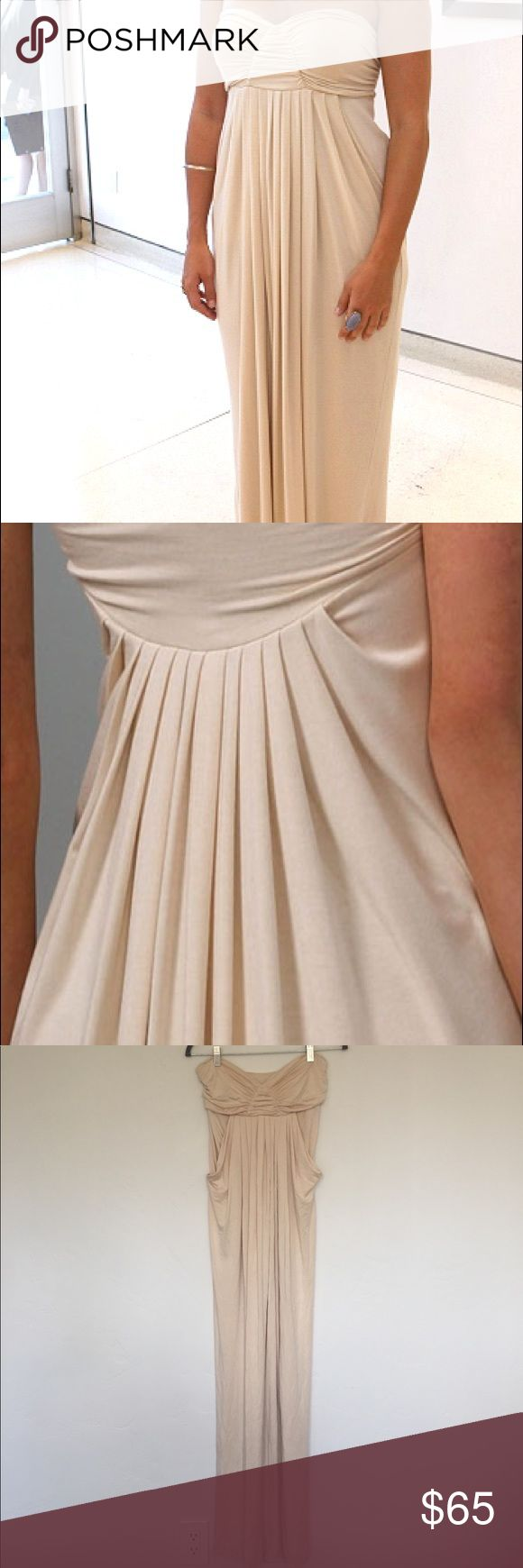 """Rachel Pally For Shopbop Long Fortuna Maxi Dress I had a seamstress add straps but have taken them off since then. Last two pictures show where the straps were. Completely unnoticeable when worn. 53"""" Long from underarm to hem Rachel Pally Dresses Maxi"""