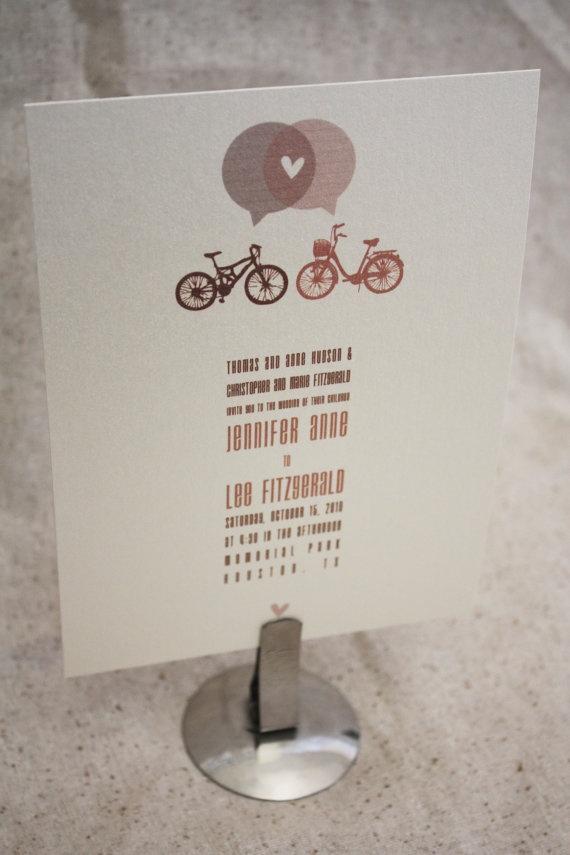 bike invitations