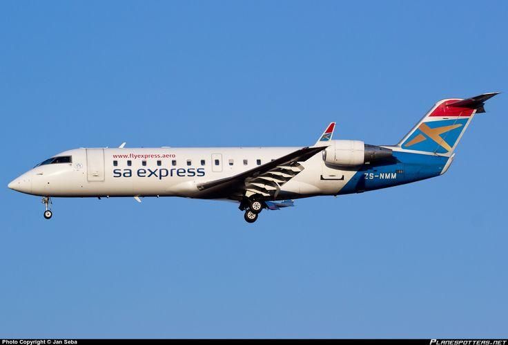 ZS-NMM South African Express Airways Canadair CL-600-2B19 Regional Jet CRJ-200ER