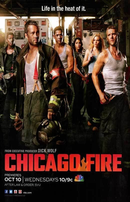 Chicago Fire ... The story of firefighters in Chicago  Starring Jesse Spencer & Taylor Kinney.