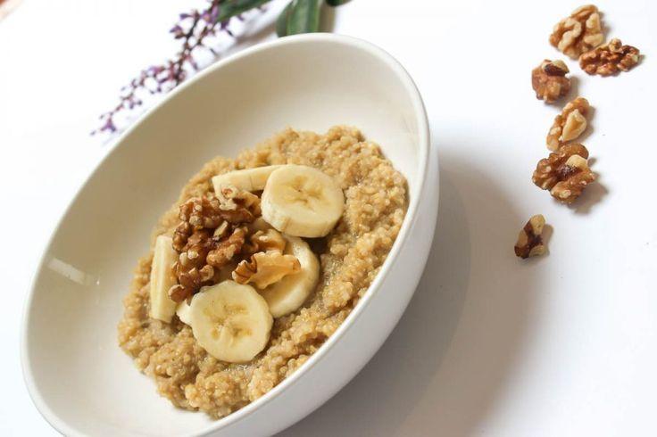 Banana-Nut Quinoa Porridge