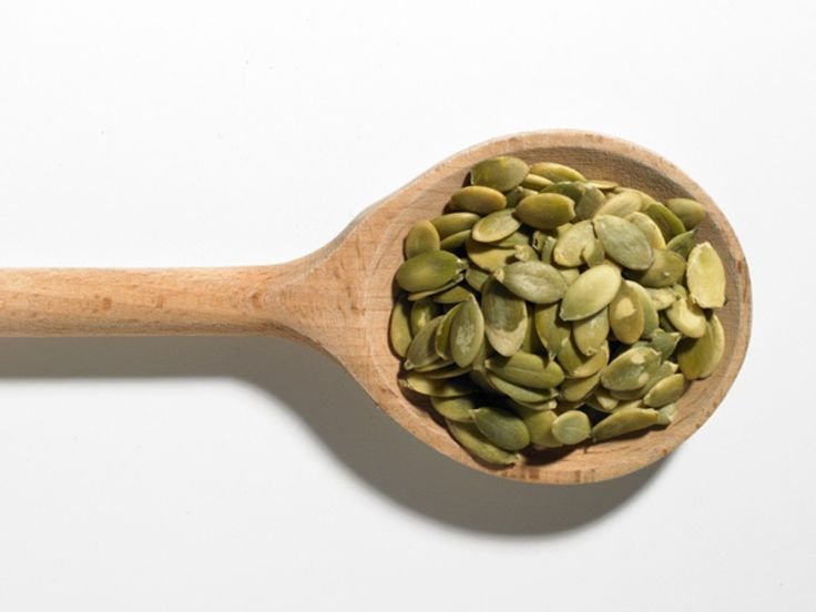 Pumkin seed To Add Protein To Your Smoothie:Protein: 5 g Calories: 126 Protein-rich pumpkin seeds are a favorite mix-in of Jennifer McDaniel, RD, spokesperson for the Academy of Nutrition and Dietetics. They're also loaded with magnesium, a key nutrient for strong bones and optimal muscle functioning. For a richer, nuttier flavor, try roasting them. They're great blended with pumpkin puree, milk, maple syrup, and cinnamon—basically, fall in a cup!