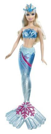Barbie In a Mermaid Tale 2 Mermaid Arctic Doll by Mattel. $22.52. Beautifully detailed bodice and mermaid tail. Color changing features with cold water activation. Girls can have fun acting out scenes from the movie. Based on the Barbie's newest animated movie, Barbie in A Mermaid Tale 2. Collect all of the Mermaid Tale 2 Mermaids. From the Manufacturer                Barbie in a Mermaid Tale 2 Mermaid Collection: In the movie Barbie in A Mermaid Tale 2, these magical Royal ...