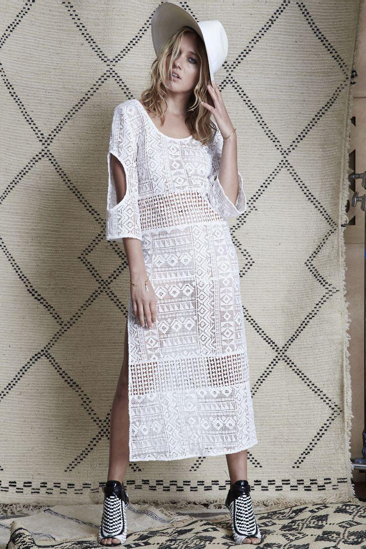 Stevie May - Scarlett Maxi Crochet Dress