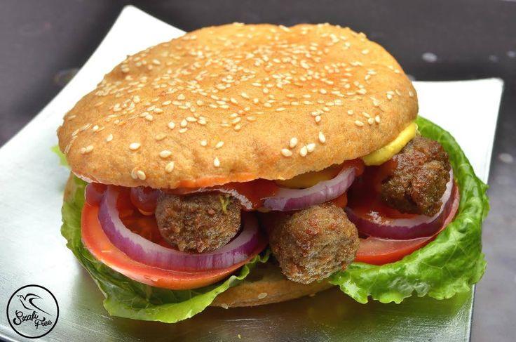 Szafi Free csevapcsicsás gluténmentes hamburger