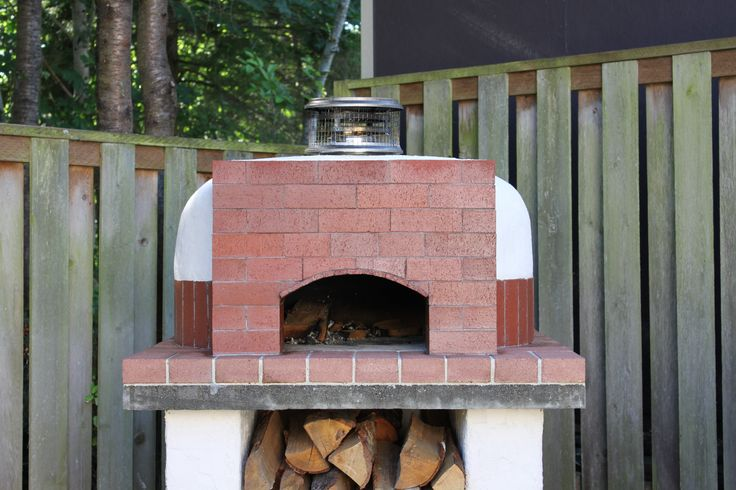 how to build a wood fired oven dome