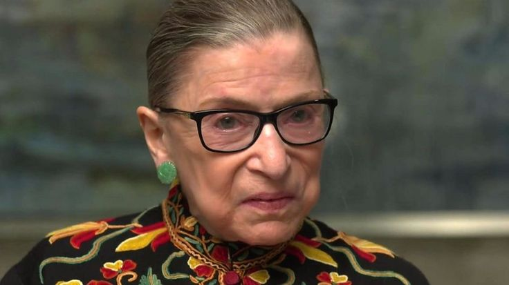 """Supreme Court Justice Ruth Bader Ginsburg says the US is """"not experiencing the best of times""""."""