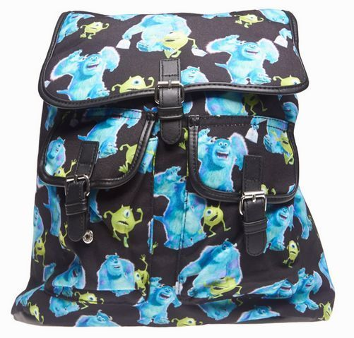 Disney Loungefly Monsters University Inc Mike & Sulley Slouch Backpack - bookbag #Loungefly #Backpack