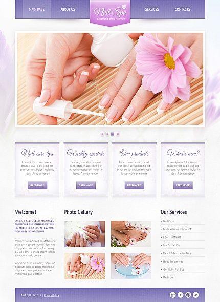 84 best SPA Salon Website images on Pinterest Salon website - sample spa menu template