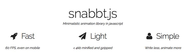 Ooh, something new to play with: snabbt.js is a minimalistic javascript animation library. It focuses on moving things around. It will translate, rotate, scale, skew and resize your elements. By including matrix multiplication operations, transforms can be combined in any way you want. The end result is then set via CSS3 transform matrices.