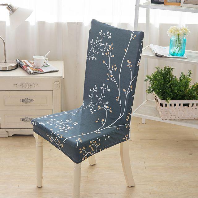 Haute Qualité Couverture de Chaise 5 Styles Décoratif Imprimé Polyester Fiber De Chaises Cas Couvre Protecteurs de Meubles pour Home Office