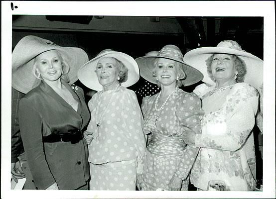The Gabor sisters: Zsa Zsa, Eva, Jolie and Magda, Jolie headquartered in Palm Springs for nearly 40 years.