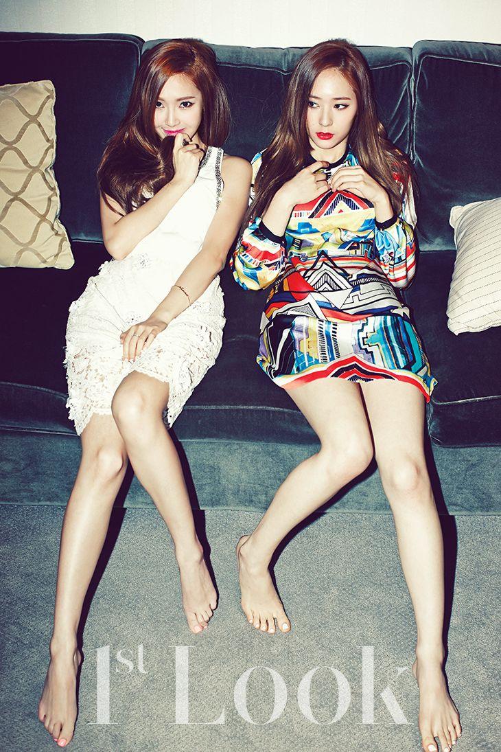 2014.06, 1st Look, Vol. 70, Girls' Generation, Jessica, f(x), Krystal #jungsisters #jessica #krystal
