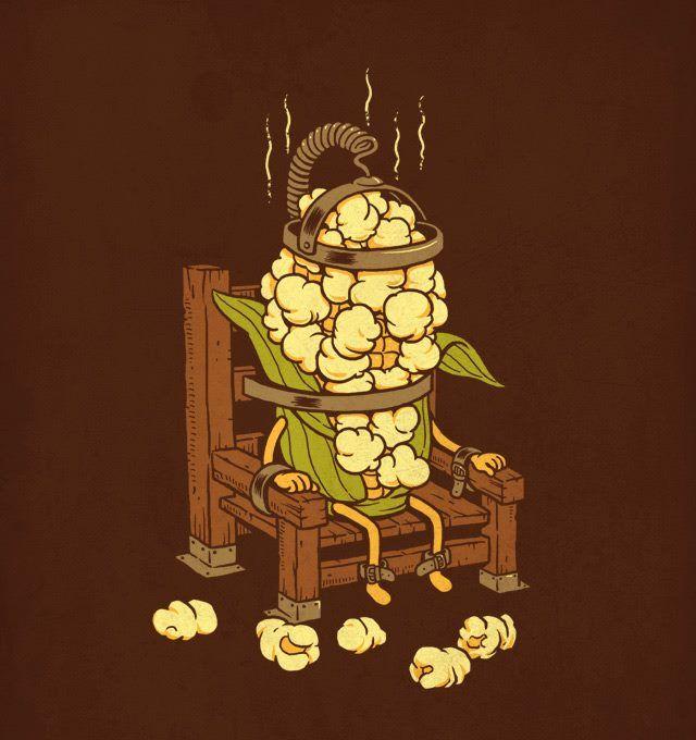 Corn Execution. Artist: Ben Chen