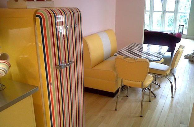 Retro Keukenapparatuur : Retro keukenapparatuur, Retro koelkast and Retro keukens on Pinterest