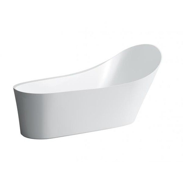 LAUFEN PALOMBA COLLECTION Solid Surface Freestanding Bath via Polyvore featuring home, bed & bath and bath