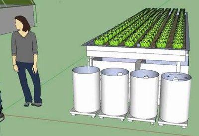 DIY Building a Vortex Filter for a hydroponics system. The Urban Farming Guys via Treehugger