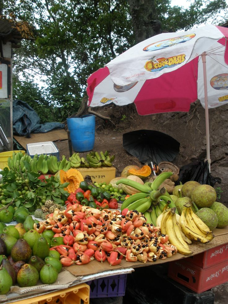 how to sell food in carribean market