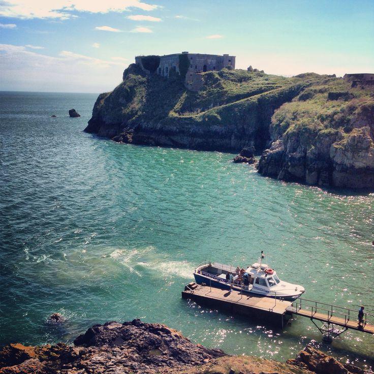 Trips to Caldey island ⛵️⚓️