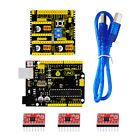 New! 3D Printer Kit for Arduino CNC Shield V2UNO R3A49884 GRBL Compatible