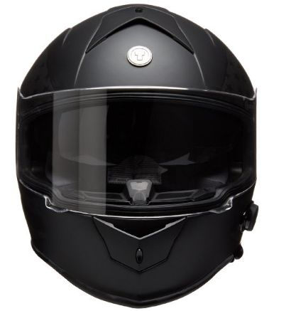 Torc T14B Bluetooth Integrated Mako Full Face Helmet with Flag Graphic