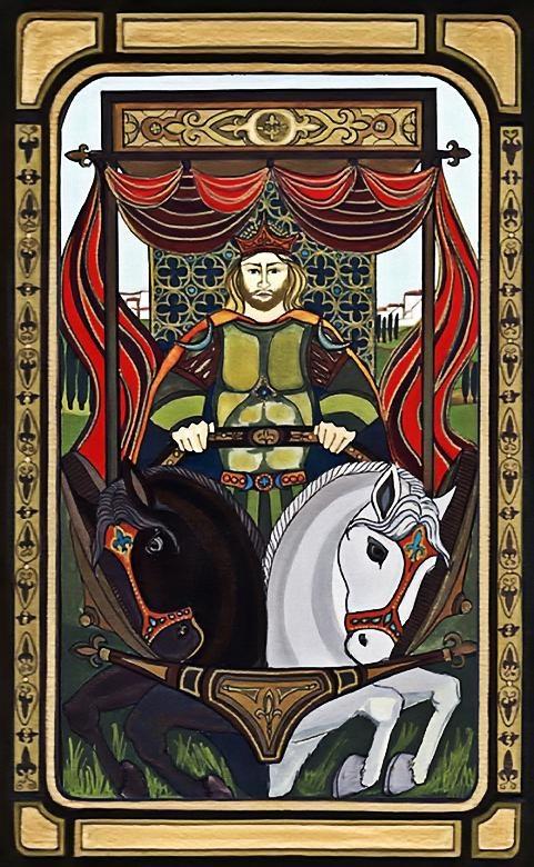 95 best images about The Chariot (Tarot Card) on Pinterest ... Golden Tarot Liz Dean