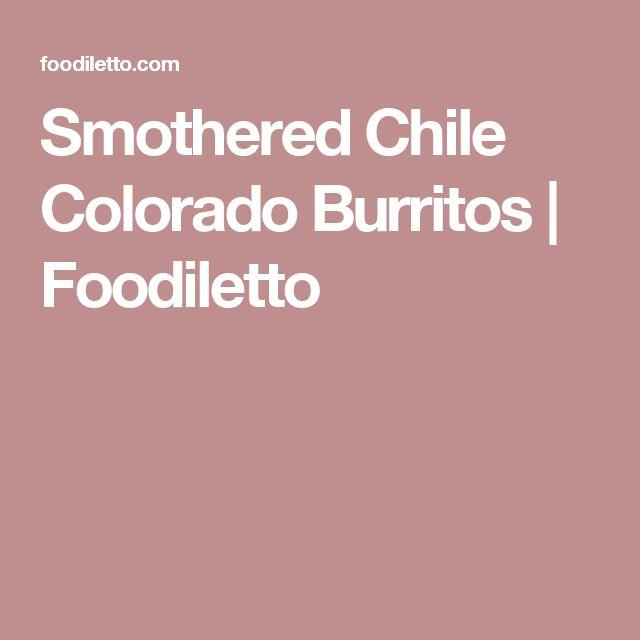Smothered Chile Colorado Burritos | Foodiletto