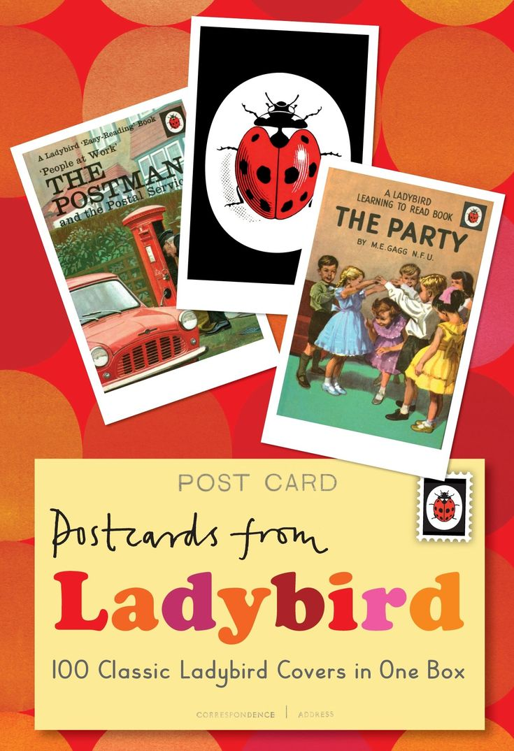 Postcards from Ladybird: 100 Classic Ladybird Covers in One Box: Amazon.co.uk: Ladybird: 9781409311522: Books