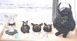 gerhard pischinger, 6 keramikeulen   http://keramik.ecke.cc/