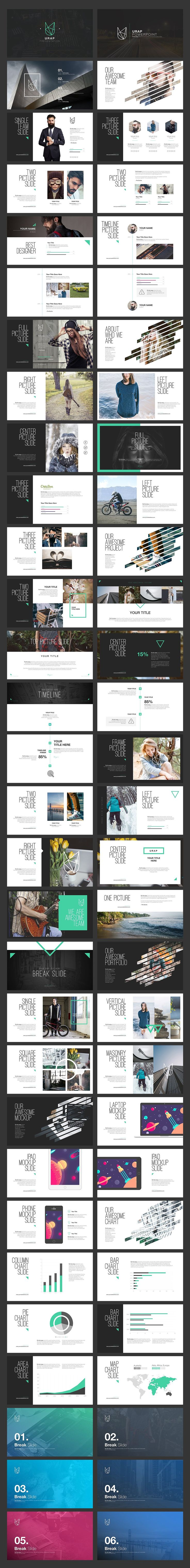 URAP Keynote Template by Angkalimabelas on @creativemarket