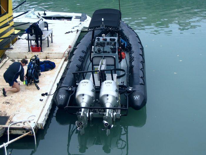 Mermaid Inflatable Boat Cleaner